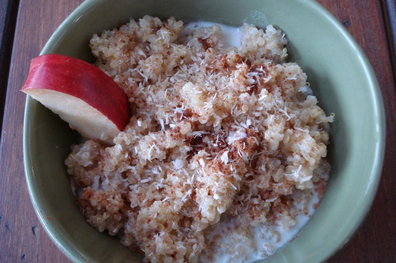 Hot Breakfast Quinoa