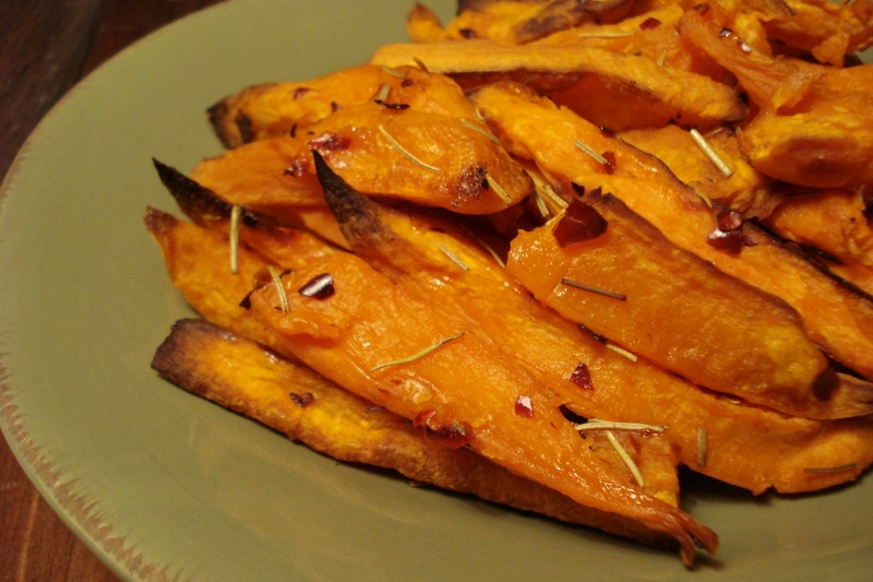 Chunky Sweet Potato Fries