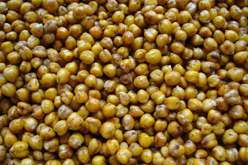 Roasted Moroccan Garbanzos