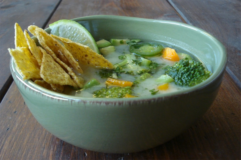 Garlic Soup – Mexican Style