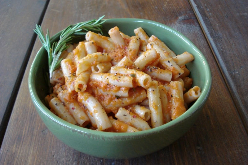 Penne w/ Tomatoes, Rosemary & Balsamic