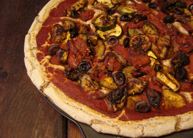 Roasted Veggie Pizza