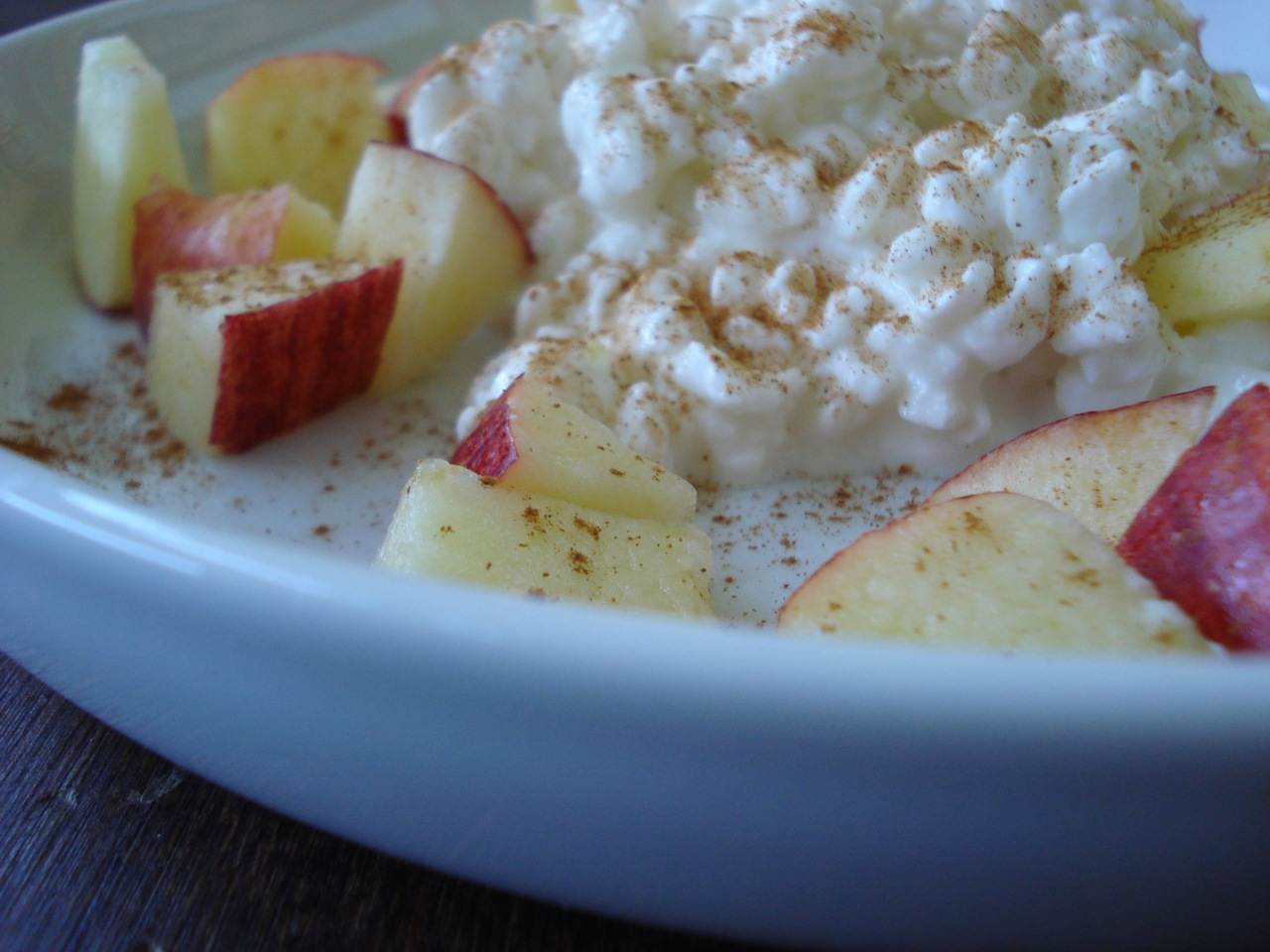 Cottage Cheese, Apple & Cinnamon