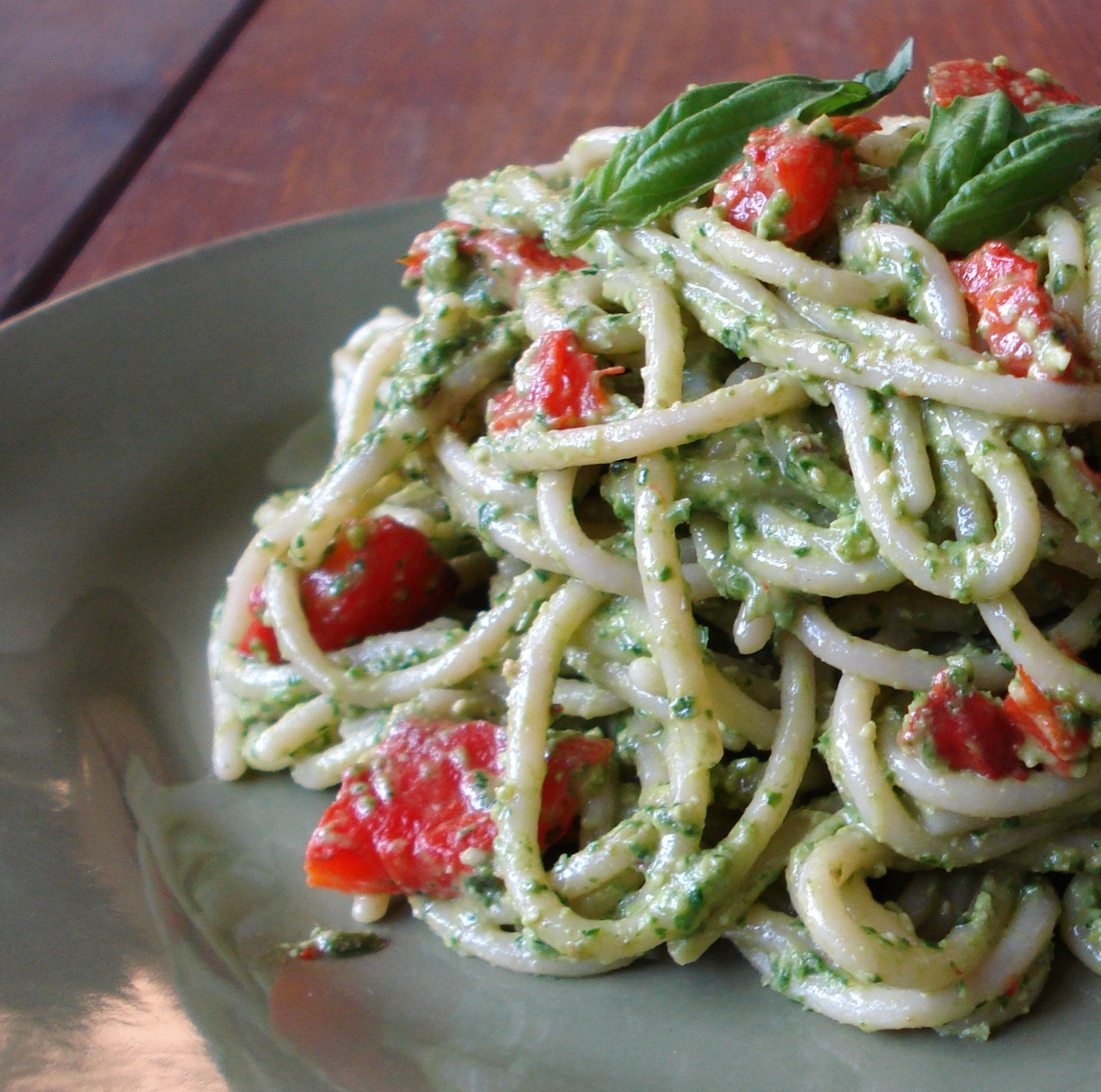 Spinach & Roasted Red Pepper Pesto