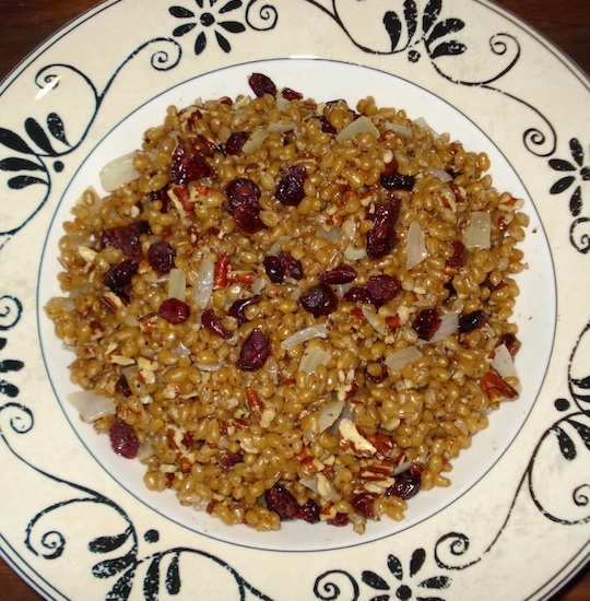 Wheatberries w/ Pecans & Cranberries