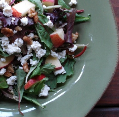 Apple, Walnut & Feta Salad