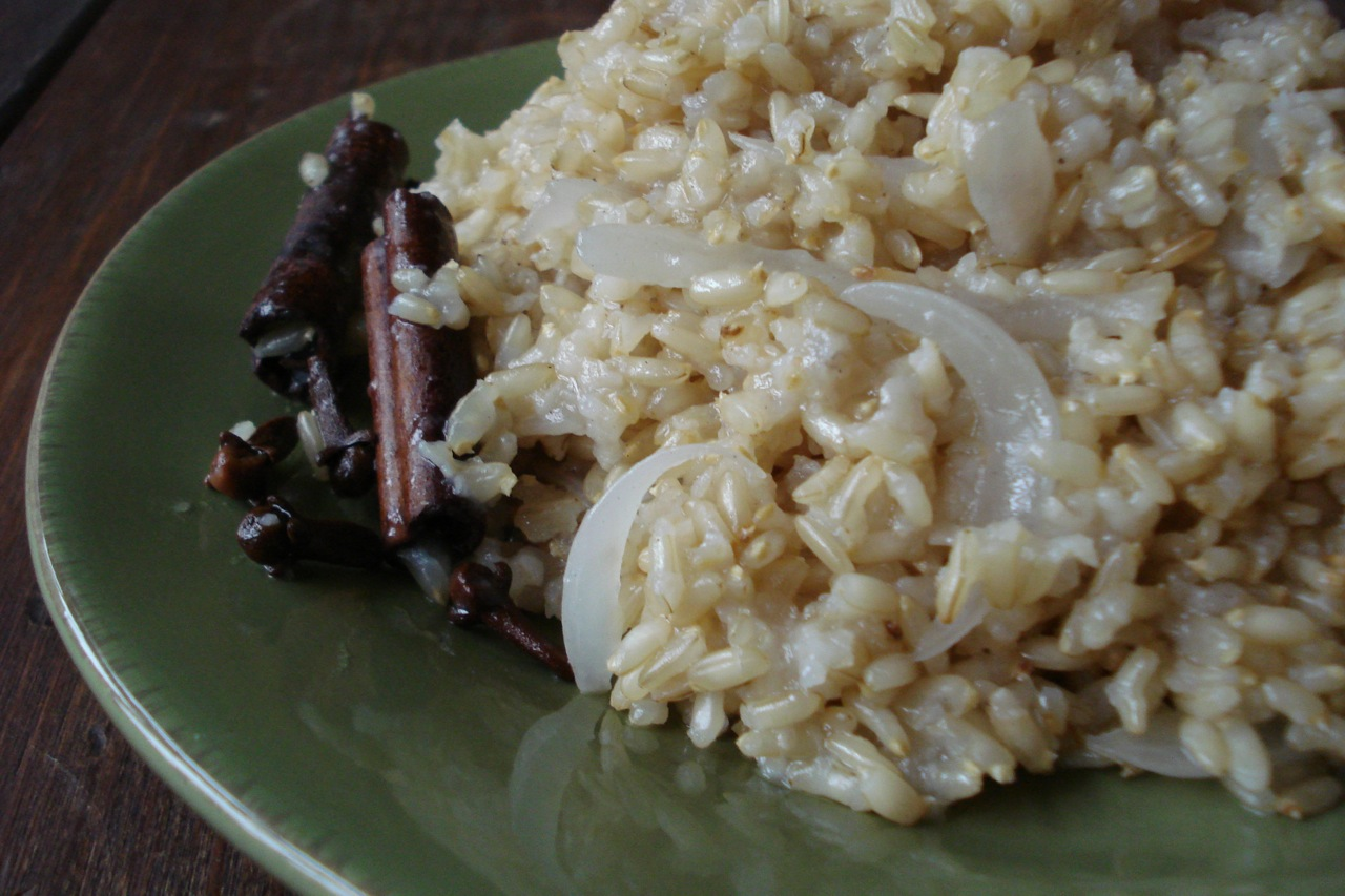 Indian Spiced Basmati Rice — Real Food Tastes Good