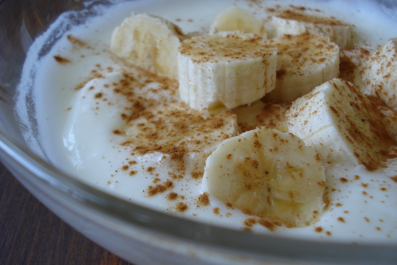 Yogurt Banana & Cinnamon