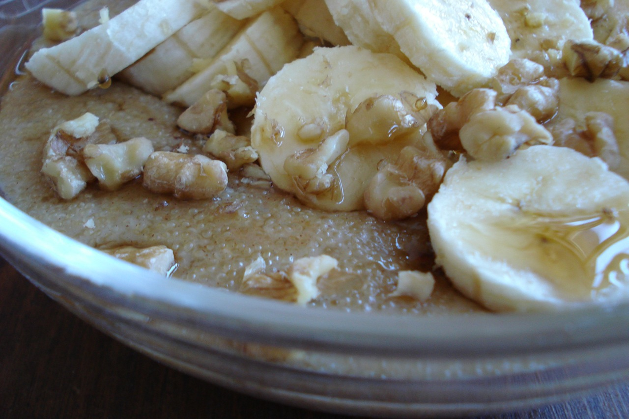 Amaranth & Apple Porridge