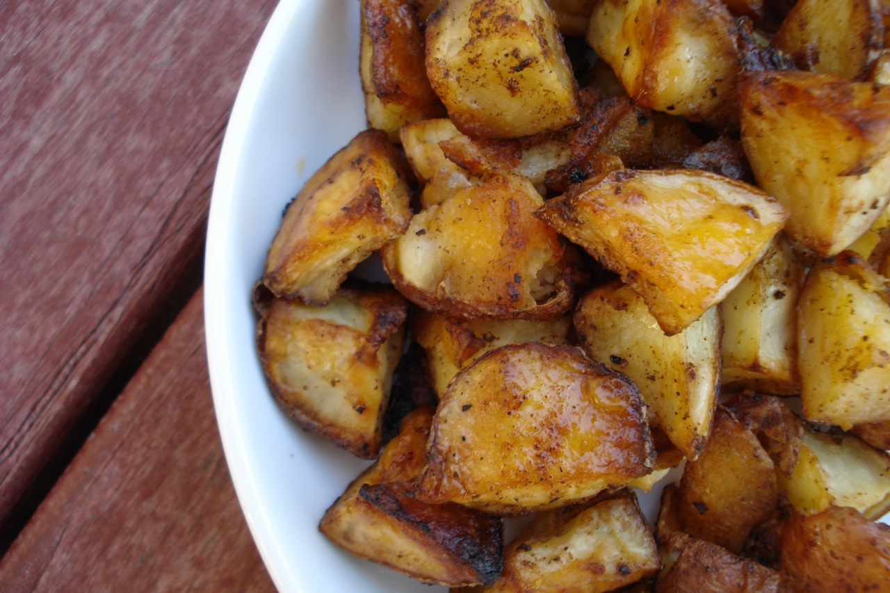 Oven-Roasted Chipotle Potatoes