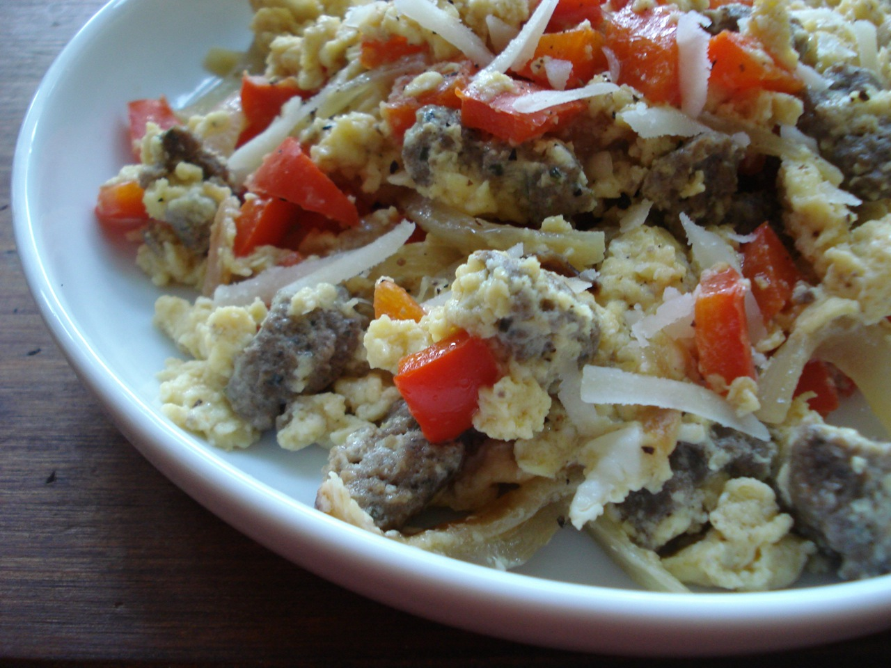 Sausage, Peppers, & Eggs