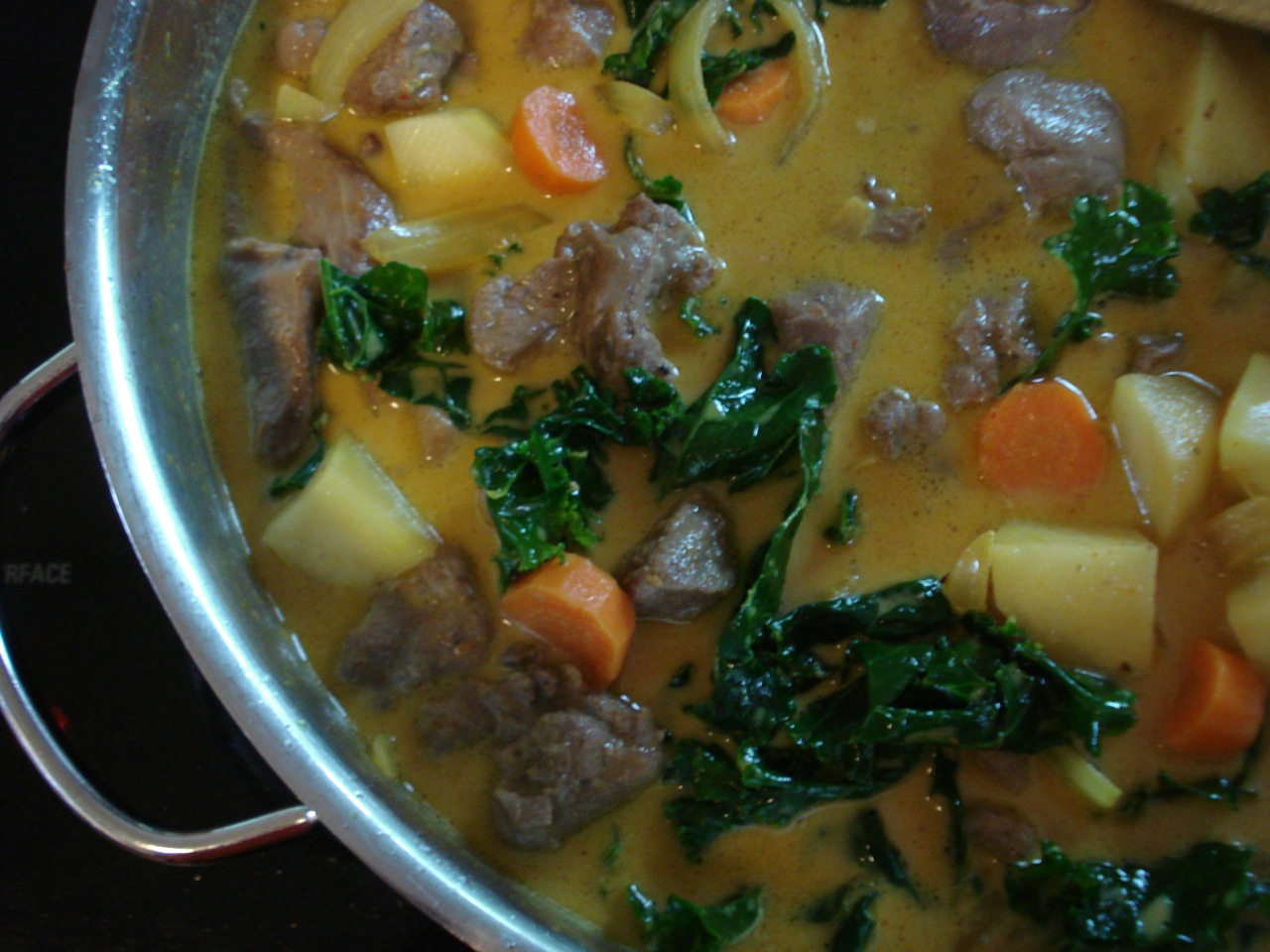 Coconut Curry Lamb Stew