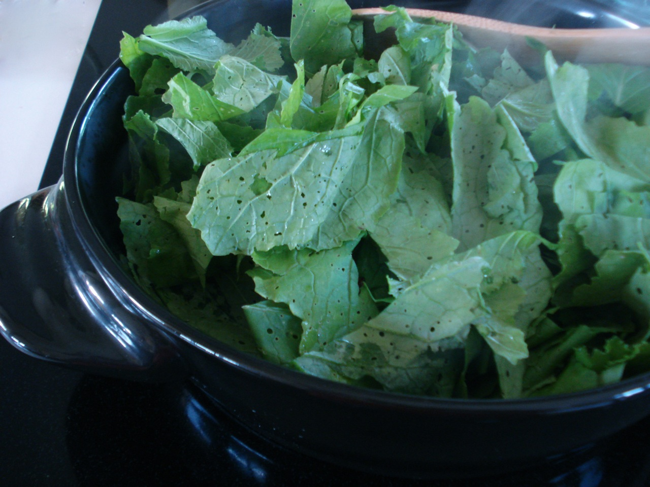 Storing Greens for Ease