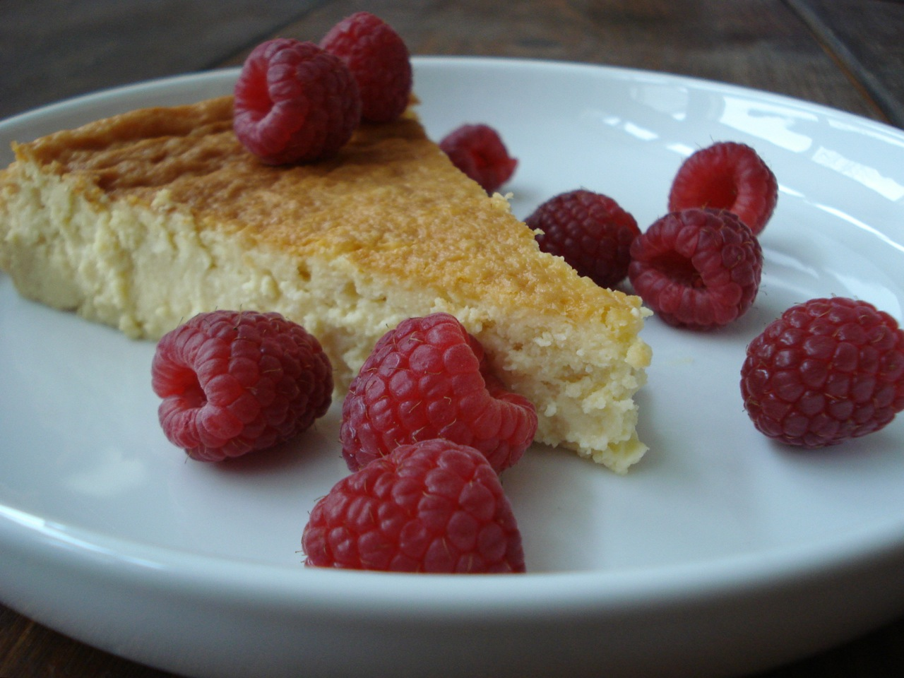 Ricotta Honey Cheesecake