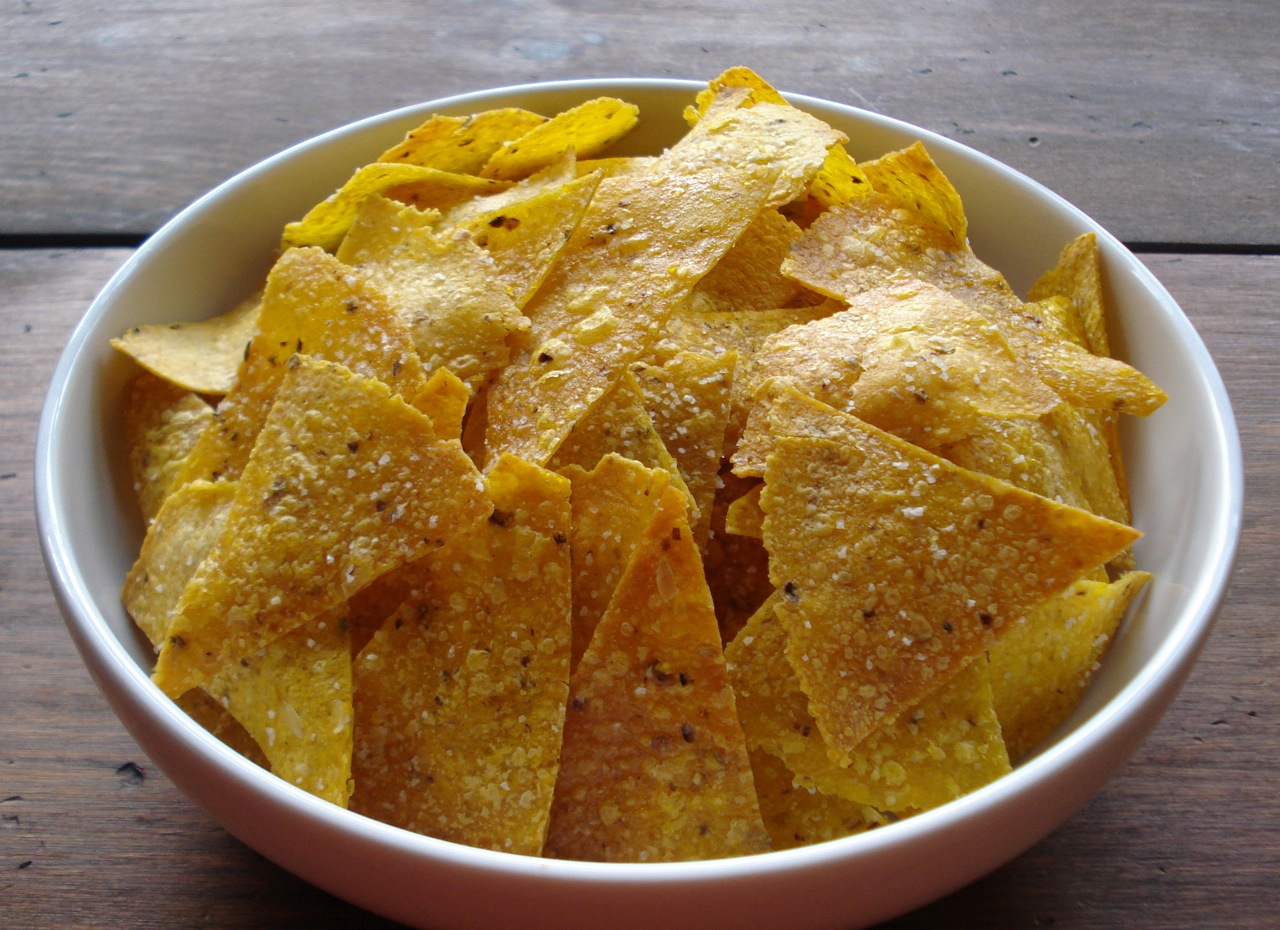 Sprouted Corn Tortilla Chips Real Food Tastes Good